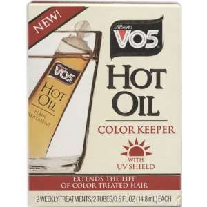 VO5 Hot Oil Color Keeper .5 oz 2 Tubes Beauty