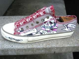 Ed Hardy Mens Used Tennis Shoes Sneakers 11