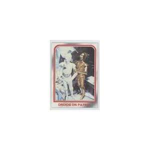 1980 Star Wars Empire Strikes Back (Trading Card) #15   Droids on