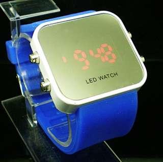New Luxury Colors Sport Style LED Digital Date Lady Men Wrist Watch A7