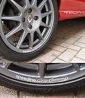 Wheel Rim Racing Decals sticker to fit Speedline Corse White X2