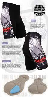 mens cyclist cycling bike tights SHORTS gel padded bicycle gear S~3XL