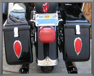 Red Tear Drop 39 LED Tail Brake or Turn Signal Lights for Harley