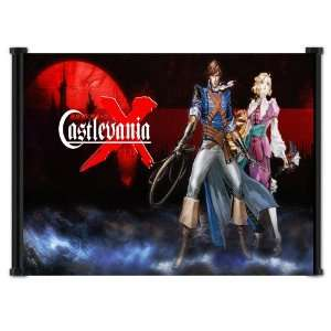 Castlevania The Dracula X Chronicles Game Fabric Wall Scroll Poster