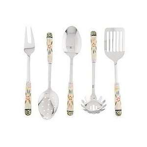 Temp tations Old World 5 piece Stainless Steel Utensil Set