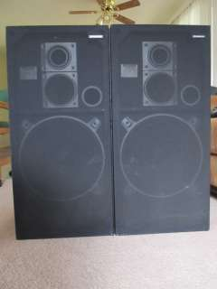 Vintage Pioneer CS B9000 150W Floor Loud Speakers One Owner Personal