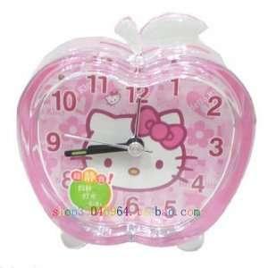 crystal hello kitty alarm clock