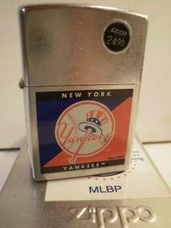 New York YANKEES ZIPPO LIGHTER New w/Box & Seal MLB Bat