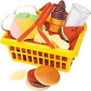 Learning Resources Play Lunch Foods Basket