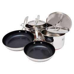 Bodeux Stainless Steel Copper Bottom Cookware Set