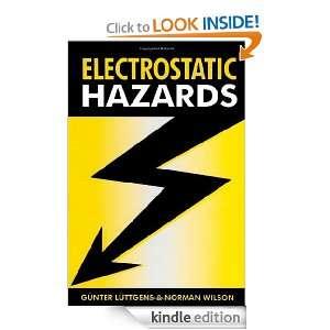 Electrostatic Hazards Günter Luttgens, Norman Wilson