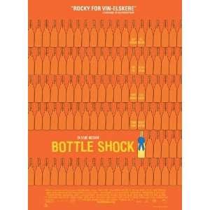 Bottle Shock Poster Danish 27x40 Chris Pine Alan Rickman Bill Pullman