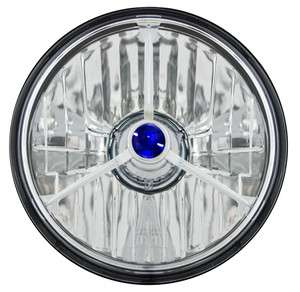 Headlights CWC 7014 Conversion Headlight Diamond Cut W/ Tri Bar W/ H4