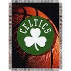 boston celtics nba 48 x 60 triple woven tapestry throw