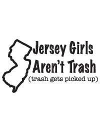 Jersey Shore Girls Funny American Apparel 2102 T Shirt