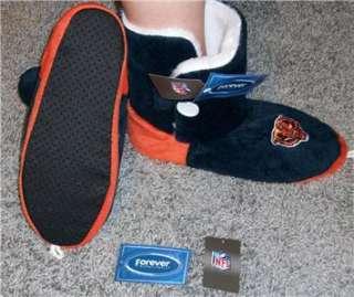 Chicago BEARS NFL SPORT BOOT SLIPPERS Womens XL