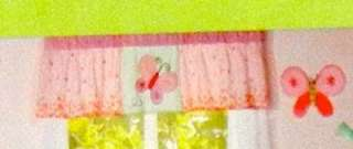 NURSERY Kids Room VALANCE curtain BUTTERFLY spring sweet CARTERs New