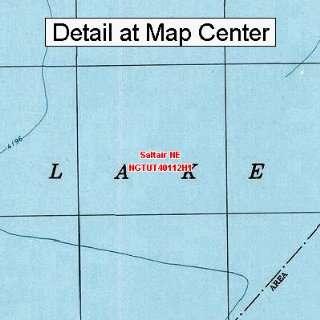 USGS Topographic Quadrangle Map   Saltair NE, Utah (Folded