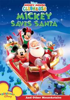 Disneys Mickey Mouse Clubhouse Mickey Saves Santa And Other