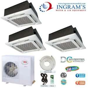 YMGI R410A Ductless Mini Split 16 SEER DC Inverte, Heat