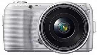 Sony Alpha NEX C3 Silver Digital Camera ** BODY ONLY **