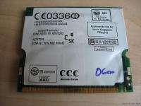 Dell Latitude D600 Intel Wireless Card WM3A2100 0U2027 U2027 802.11b