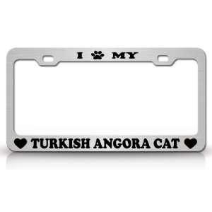 I PAW MY TURKISH ANGORA Cat Pet Animal High Quality STEEL