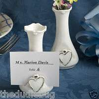 48 Vase Placecard Holders WEDDING FAVORS CENTERPIECES