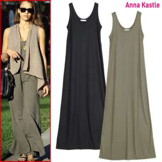 New Womens Sleeveless Summer Maxi Dress size S