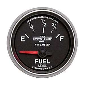 Auto Meter 3613 Sport Comp II Electric Fuel Level Gauge
