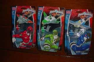 New Power Rangers SPD Mega Bloks includes Blue 5762, Green 5761, Red