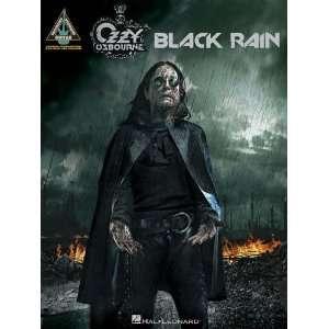 Rain (Guitar Recorded Versions) (9781423451037) Ozzy Osbourne Books