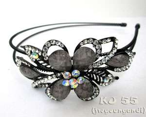 Headbands Butterfly Hair Bands Crystal Head Beads Color H215