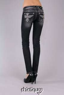 Miss Me Jeans Twilight Shadow Floating Wing DG 10 Denim Skinny