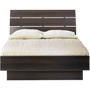 Laguna Wooden Full Platform Bed with Headboard