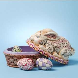 Shore Heartwood Creek Easter Bunny Eggs Box Set 3 4025800 NIB |