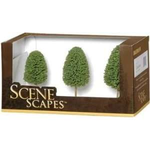 Bachmann BAC32006 3 in.  4 in. Deciduous Trees   3: Toys & Games