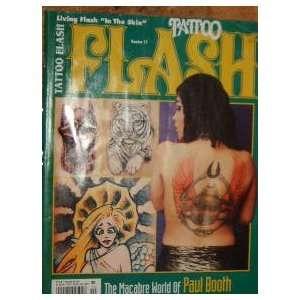 Tattoo Flash Magazine Paul Booth (October, 1996): staff: Books