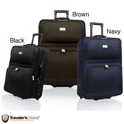 Travelers Choice Voyager 3 piece Luggage Set