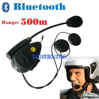 Bluetooth BT Motorcycle Helmet Headset Intercom Speaker