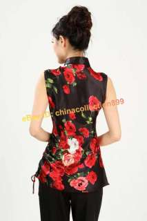 Chinese Women Girl Summer Casual Shirt Blouse Tops