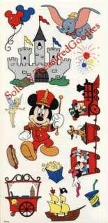 DISNEY THEME PARK STICKERS Scrapbooking World Mickey