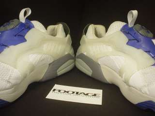 BLAZE RUNNING SHOES NM II 2 WHITE GREY CONCORD PURPLE ROYAL BLUE DS 11