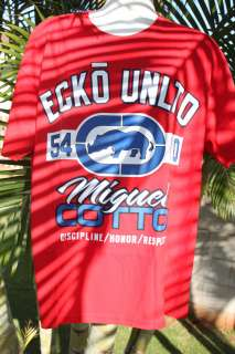 Style T Shirt Ecko Unltd Miguel Cotto RED XL Suggested Retail $29