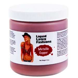 Ammonia Free Liquid Latex Body Paint   32oz Metallic