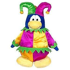 Disney Club Penguin 6.5 Inch Plush Series 3   Court Jester
