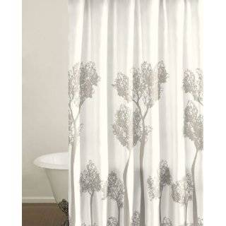City Scene Tree Top Shower Curtain, 100 Percent Cotton