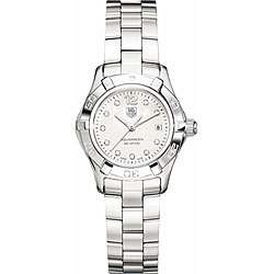 Tag Heuer Womens Aquaracer Mother of Pearl Diamond Watch
