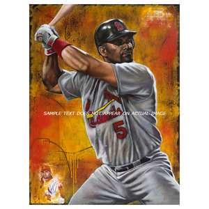 MLB   Albert Pujols Print St. Louis Cardinals The Warrior Oversized