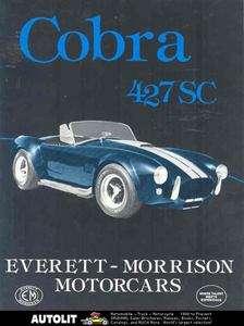 1985 Cobra 427SC Everett Morrison Kit Car Brochure